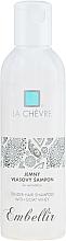 Naturalny szampon do włosów i wrażliwej skóry głowy z kozim mlekiem - La Chevre Embellir Soft Hair Shampoo With Goat Milk Whey — фото N1
