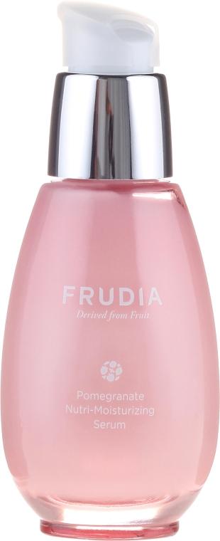 Odżywczo-nawilżające serum do twarzy - Frudia Nutri-Moisturizing Pomegranate Serum — фото N2
