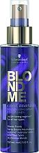 Kup Neutralizująca odżywka w sprayu do włosów blond - Schwarzkopf Professional BlondMe Cool Blondes Neutralizing Spray Conditioner
