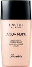 Kup Nawilżający fluid do twarzy - Guerlain Lingerie de Peau Aqua Nude