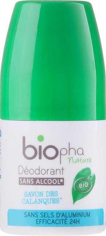 Dezodorant w kulce Mydło Calanque - Biopha Nature Déodorant Savon de Calanques
