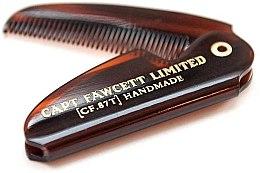 Kup Składany grzebień do wąsów, CF87T - Captain Fawcett Folding Pocket Moustache Comb
