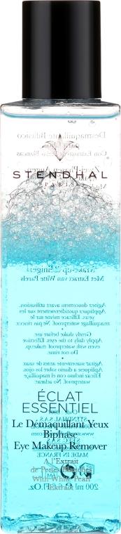 Dwufazowy płyn do demakijażu oczu - Stendhal Eclat Essentiel Biphase Eye Makeup Remover — фото N2