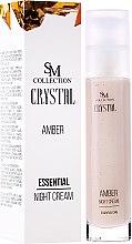 Kup Bursztynowy krem esencjonalny na noc - SM Collection Crystal Amber Night Cream