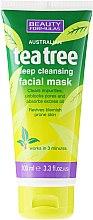 Kup Głęboko oczyszczająca maska do twarzy Drzewo herbaciane - Beauty Formulas Tea Tree Deep Cleansing Facial Mask