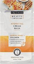 Kup Regenerująca maska do twarzy - Freeman Beauty Infusion Hydrating Cream Mask Manuka Honey + Collagen (miniprodukt)