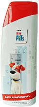 Kup Żel pod prysznic i do kąpieli dla dzieci - Corsair The Secret Life of Pets Bath & Shower Gel