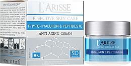 Kup Przeciwstarzeniowy krem z kwasem hialuronowym i peptydami 45+ - AVA Laboratorium L'Arisse Effective Skin Care