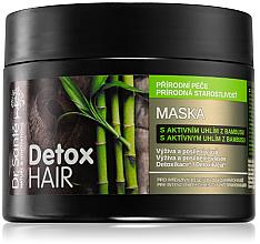 Kup Wzmacniająca maska do włosów Węgiel bambusowy - Dr. Sante Detox Hair Mask