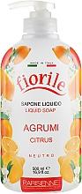 Kup Mydło w płynie Cytrusy - Parisienne Italia Fiorile Citrus Liquid Soap
