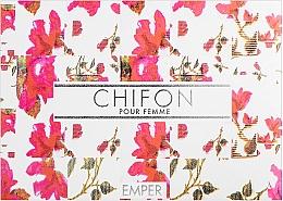 Kup Emper Chifon - Zestaw (edp/100 ml + deo/spray/200 ml + b/lot/100 ml)