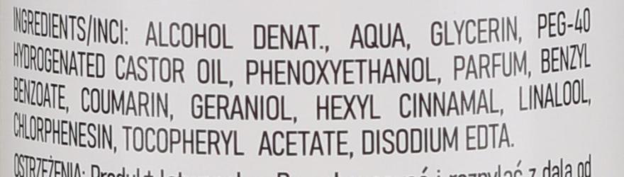 Antybakteryjny spray do higieny i pielęgnacji rąk o zapachu bawełny - Dermo Pharma — фото N3