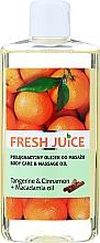 Kup Olejek do pielęgnacji i masażu ciała Mandarynka, cynamon i olej arganowy - Fresh Juice Energy Tangerine&Cinnamon+Macadamia Oil