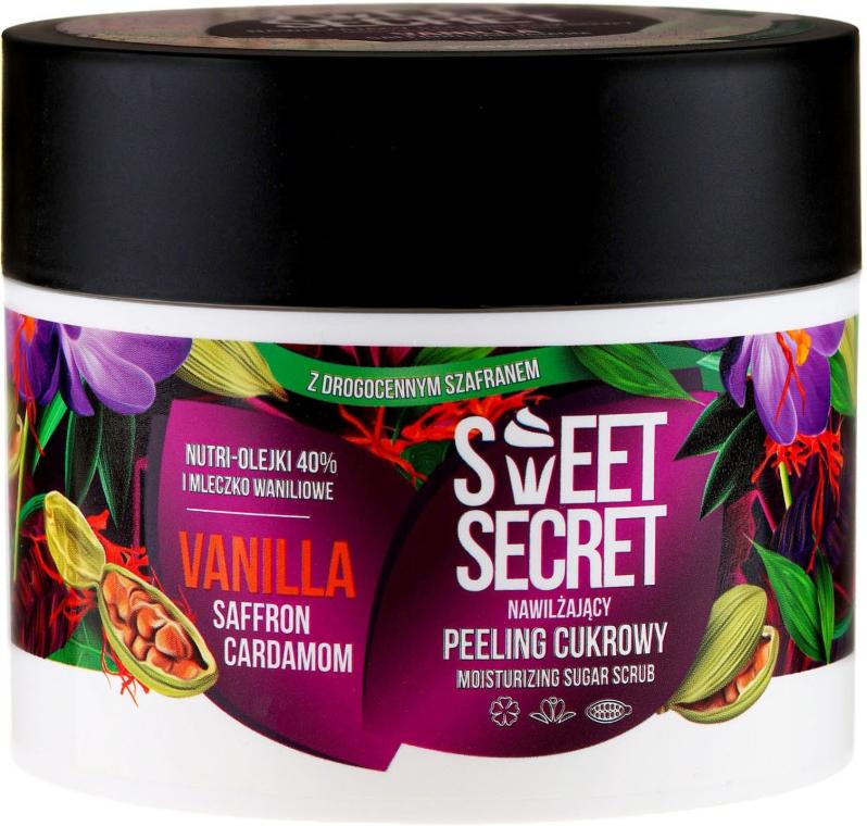 Nawilżający peeling cukrowy do ciała Wanilia z szafranem i kardamonem - Farmona Sweet Secret