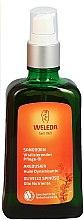Odżywczy olejek rokitnikowy w sprayu do ciała - Weleda Sanddorn Vitalisierendes Pflegeol Dispenser — фото N1