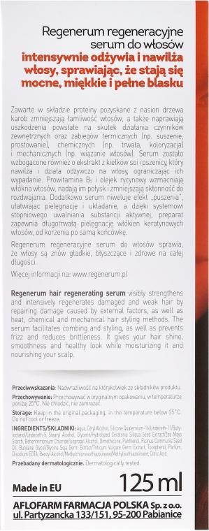Regeneracyjne serum do włosów - Aflofarm Regenerum Serum — фото N3