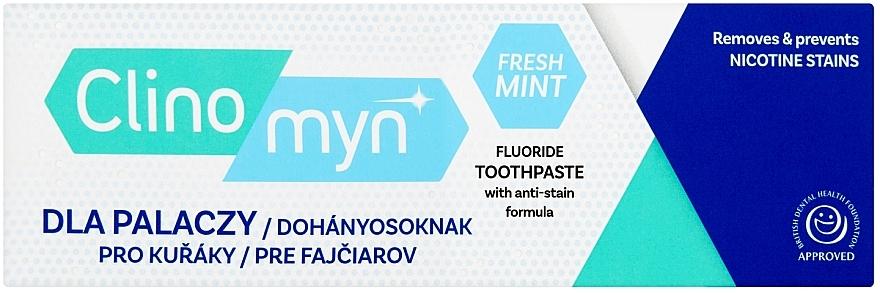 Pasta do zębów dla palaczy - Clinomyn Smokers Toothpaste Fresh Mint