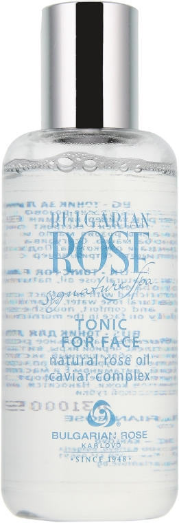 Tonik do twarzy z kompleksem czarnego kawioru - Bulgarian Rose Caviar Complex Tonic For Face — фото N2