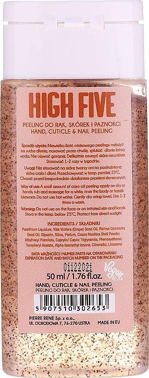 Peeling do rąk i paznokci z olejem kokosowym - Miyo High Five Oil Peeling — фото N2
