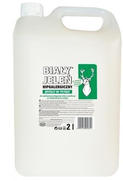 Hipoalergiczne mydło w płynie do skóry wrażliwej - Biały Jeleń (uzupełnienie) — фото N3
