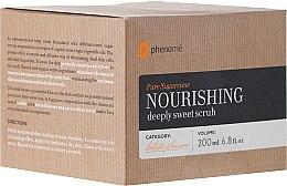 Kup Odżywczy peeling cukrowy do ciała - Phenomé Pure Sugarcane Nourishing Deeply Sweet Scrub
