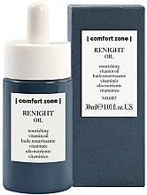 Kup Odżywczy olejek witaminowy do twarzy na noc - Comfort Zone Renight Nourishing Vitamin Oil