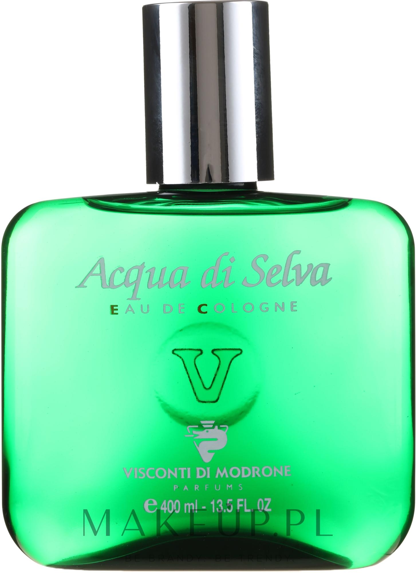 PRZECENA! Visconti di Modrone Acqua di Selva - Skoncentrowana woda kolońska * — фото 400 ml