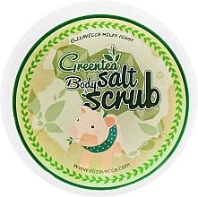 Kup Peeling solny do ciała z ekstraktem z zielonej herbaty i kakao - Elizavecca Greentea Salt Body Scrub