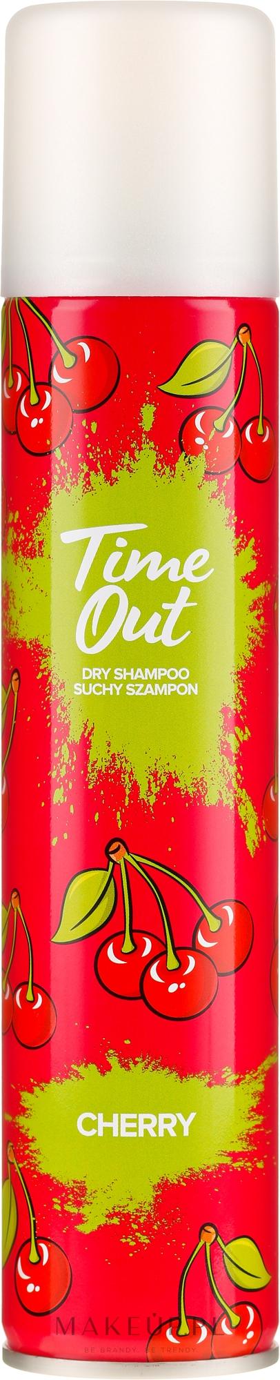 Suchy szampon do włosów Wiśnia - Time Out — фото 200 ml