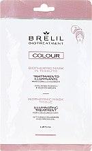 Kup Ekspresowa rozświetlająca maska w czepku do włosów farbowanych - Brelil Bio Treatment Colour Biothermic Mask Tissue Illuminating Treatment