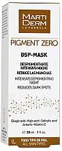 Kup Depigmentująca maska do twarz - MartiDerm Pigment Zero DSP-Mask Intensive Depigmenting Night