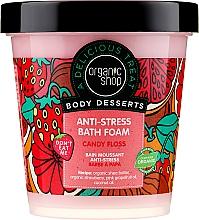 Kup Relaksująca pianka do kąpieli Wata cukrowa - Organic Shop Body Desserts Candy Floss Anti-Stress Bath Foam