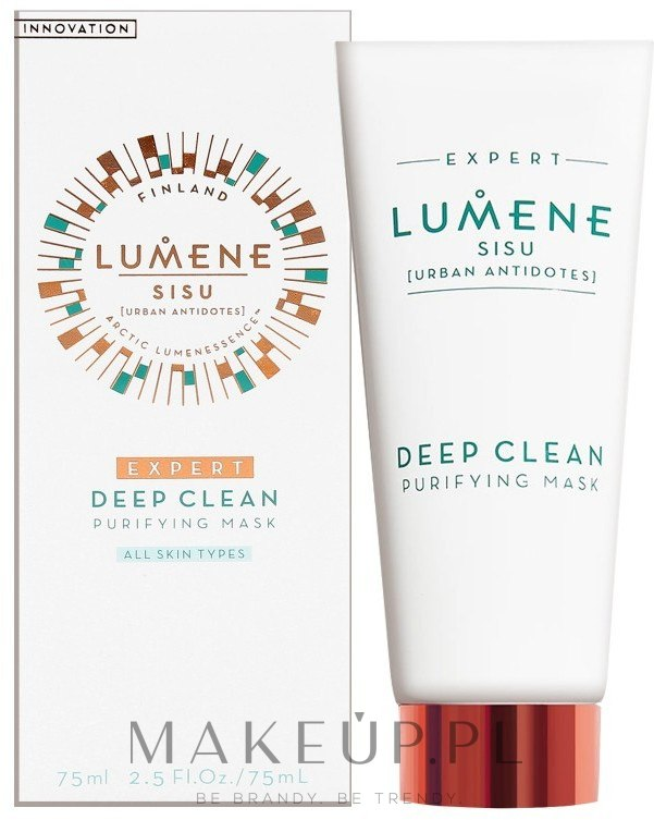 Głęboko oczyszczająca maseczka do twarzy - Lumene Sisu [Urban Antidotes] Expert Deep Clean Purifying Mask — фото 75 ml