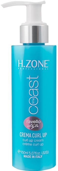 Krem do włosów kręconych - H.Zone Coast Time Curl Up Cream — фото N1