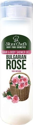 Naturalny żel pod prysznic do ciała i włosów Bułgarska róża - Stani Chef's Bulgarian Rose Hair & Body Shower Gel — фото N1