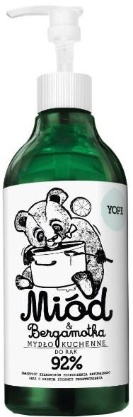 Mydło kuchenne do rąk - Yope Miód i bergamotka