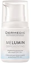 Kup Ochronny krem rozjaśniający na dzień SPF 50+ - Dermedic MeLumin Depigmenting