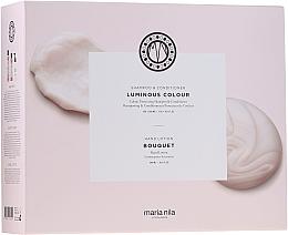 Kup Zestaw - Maria Nila Luminous Colour Gift Set (h/shm 350 ml + h/cond 300 ml + h/soap 300 ml)