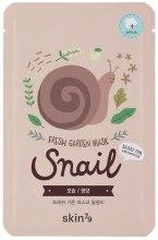 Kup Maseczka do twarzy na tkaninie z ekstraktem ze śluzu ślimaka - Skin79 Fresh Garden Mask Snail