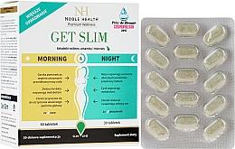 Kup Suplement diety wspomagający odchudzanie, 90 szt - Noble Health Get Slim Morning & Night