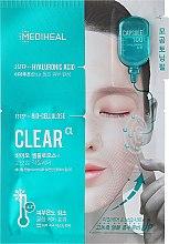 Kup 2-etapowa nawilżająca maska w płachcie z kwasem hialuronowym - Mediheal Capsule 100 Bio Seconderm Clear Alpha 2 Step Face Mask