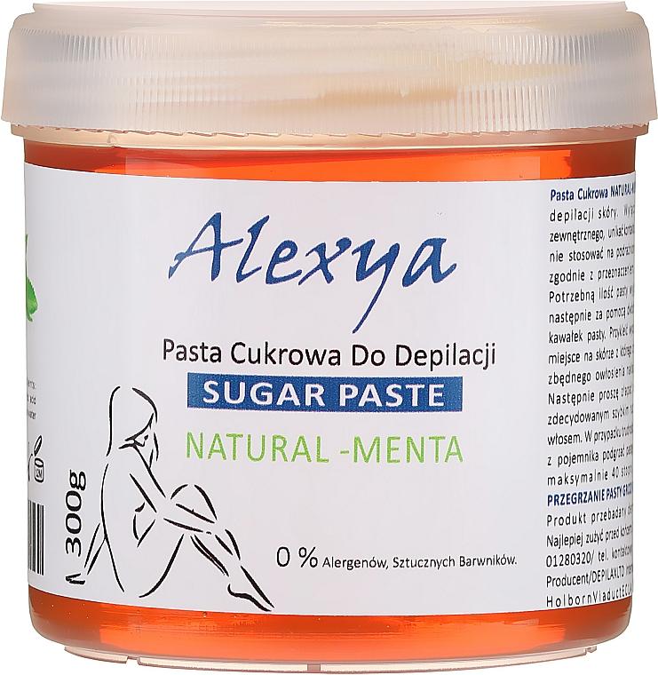 Pasta cukrowa do depilacji Mięta - Alexya Sugar Paste Natural Menta  — фото N1