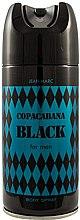 Kup Jean Marc Copacabana Black For Men - Perfumowany dezodorant w sprayu dla mężczyzn