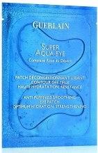 Kup Nawilżająca maseczka w płatkach do okolic oczu - Guerlain Super Aqua-Eye Anti-Puffiness Smoothing Eye Patch