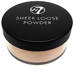 Kup Sypki puder do twarzy - W7 Sheer Loose Powder