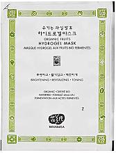Kup Rozświetlająca maska hydrożelowa - Whamisa Organic Fruits Hydrogel Mask