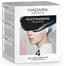 Zestaw - Madara Cosmetics Multimasking Treatment Set (f/mask/12,5ml*4 + f/ampoule/3ml*2) — фото N1