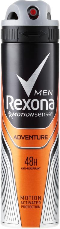 Antyperspirant w sprayu Adventure - Rexona Deodorant Spray Man — фото N1