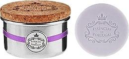 Kup Naturalne mydło w kostce Lawenda - Essências de Portugal Tradition Aluminum Jewel-Keeper Lavender (w puszce)