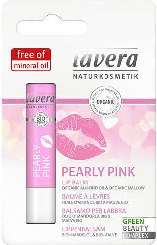 Balsam do ust - Lavera Pearly Pink Lip Balm — фото N1